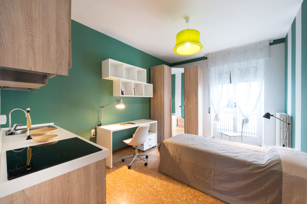 Single room with private kitchenette • 29B