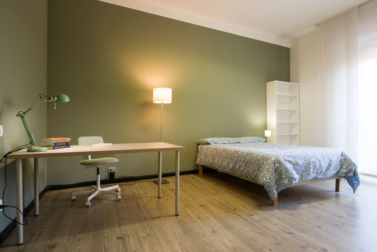 Singole room in a 3-bedroom apartment • 707I